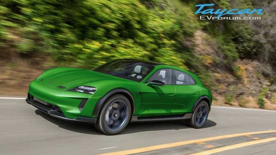 See Porsche Taycan Cross Turismo Come To Life In New Colors