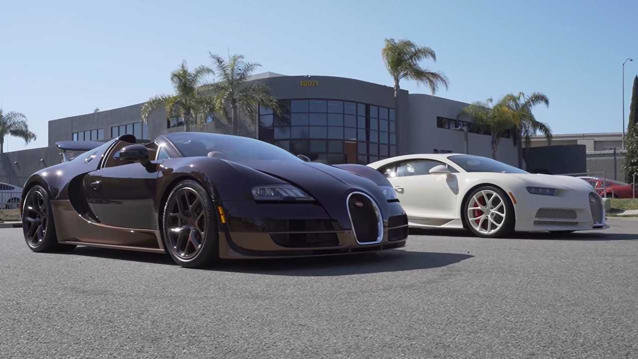 Bugatti Owner Compares Hermes Chiron Against Veyron GS Vitesse