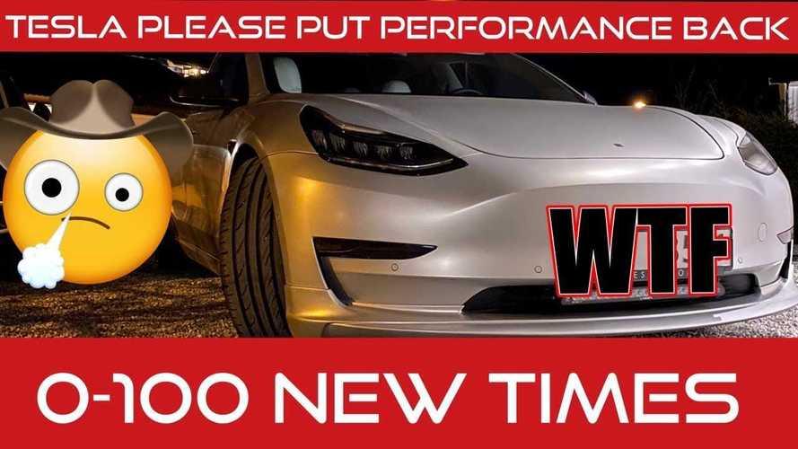 Tesla Model 3 Owner Alleges OTA Update Negatively Affected Performance