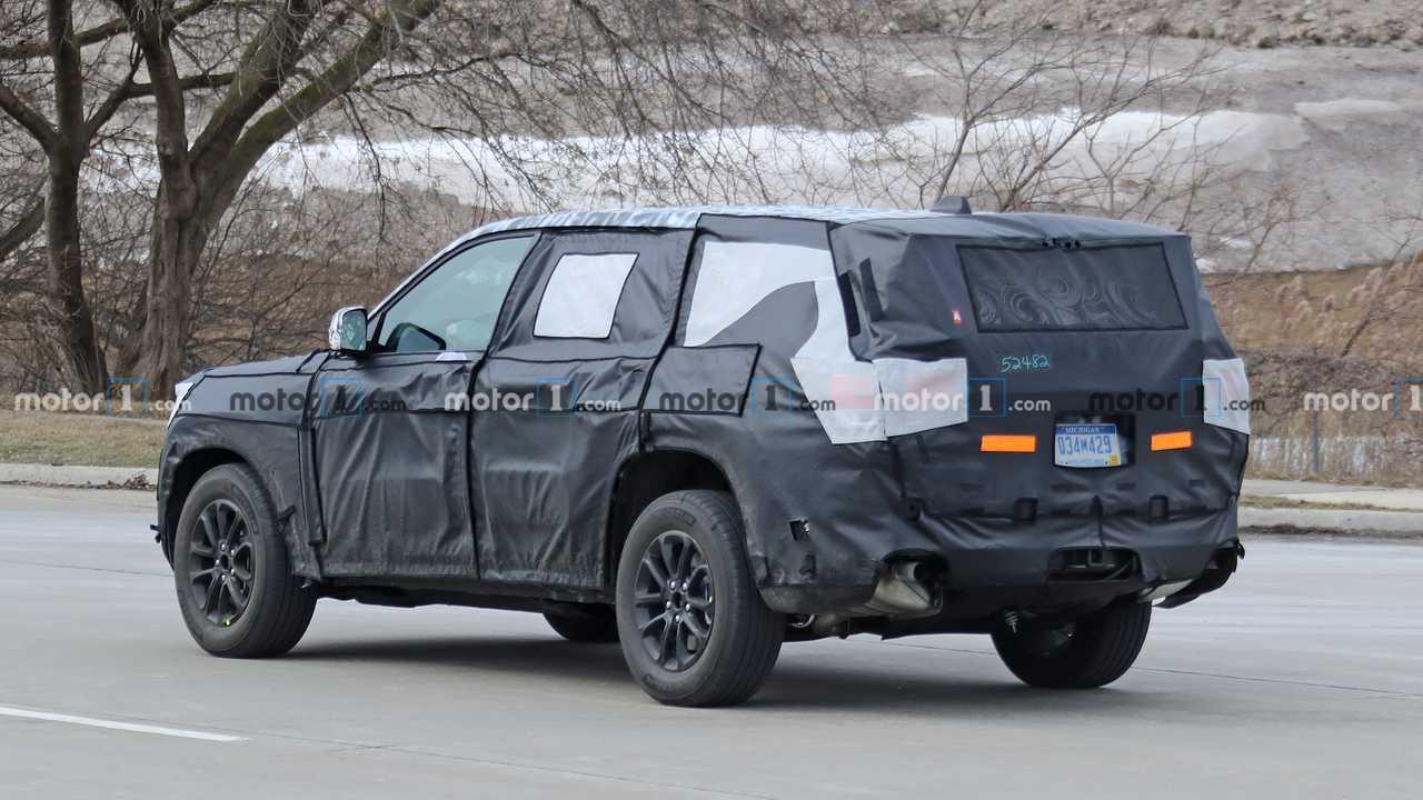 Jeep Grand Cherokee 2020, nuevas fotos espía