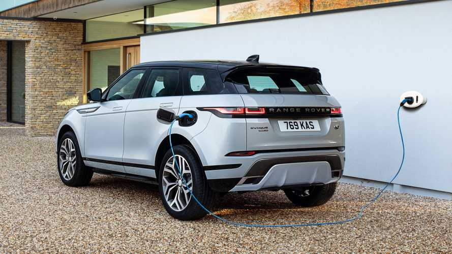 Land Rover Presents Two New PHEVS: The Evoque And The Discovery Sport P300e