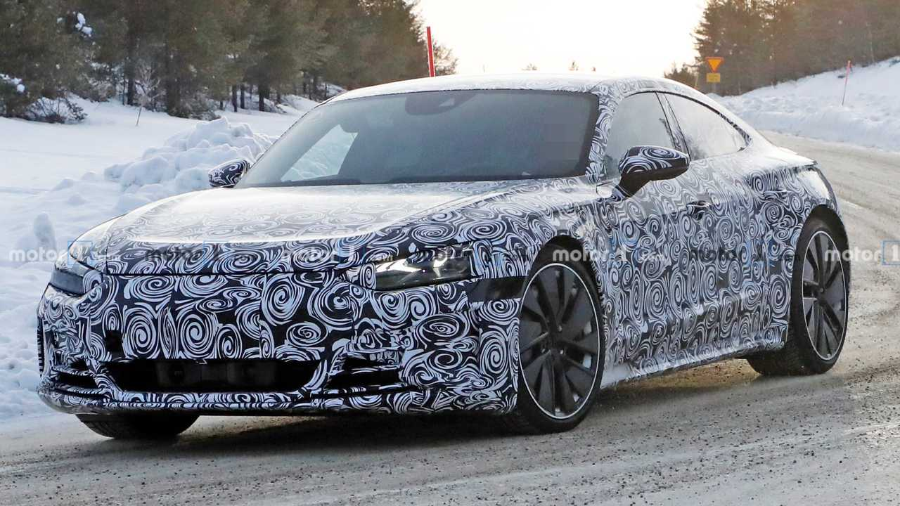 2021 Audi E-Tron GT spy photo