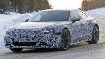 2021 Audi E-Tron GT spy photos