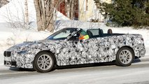 bmw 4 series convertible top down spied