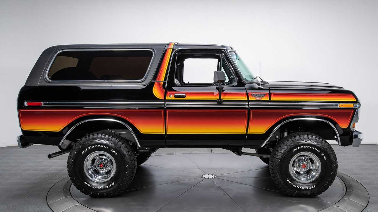 The Road Less Traveled Awaits In A 1979 Ford Bronco Ranger XLT