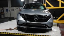 Crash Test EURO NCAP 2019 Mercedes EQC