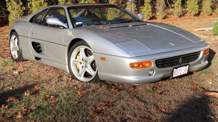 Live Your Dreams With A 1995 Ferrari F355 Berlinetta