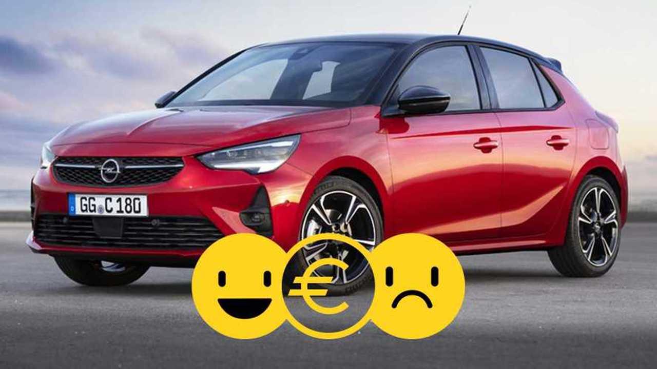 L'Opel Corsa à 119 €/mois