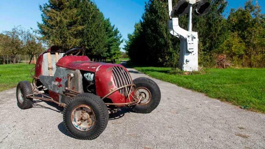 1949 Harley-Powered Midget Racer