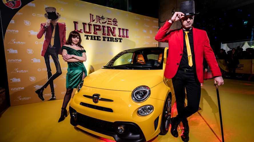 Un'Abarth 595 Turismo per Lupin