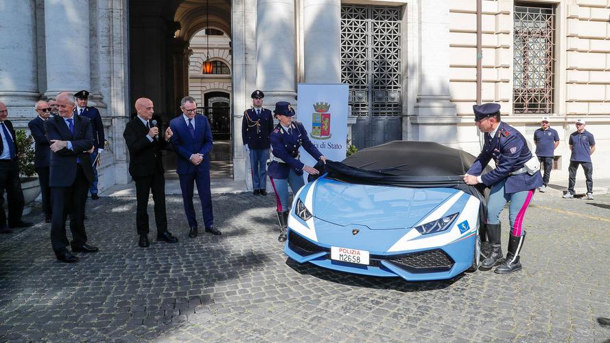 Lamborghini Huracán policía italiana