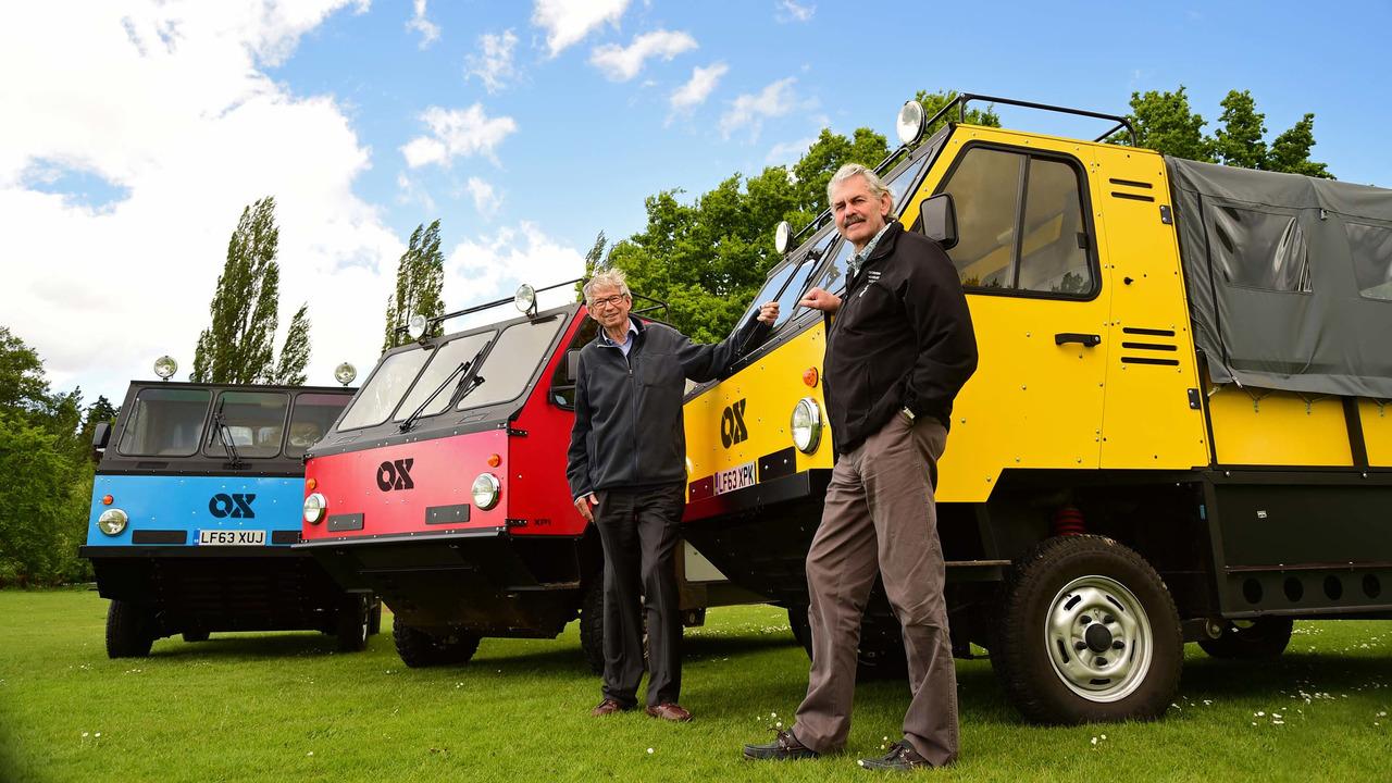 2017 - Global Vehicle Trust OX par Gordon Murray