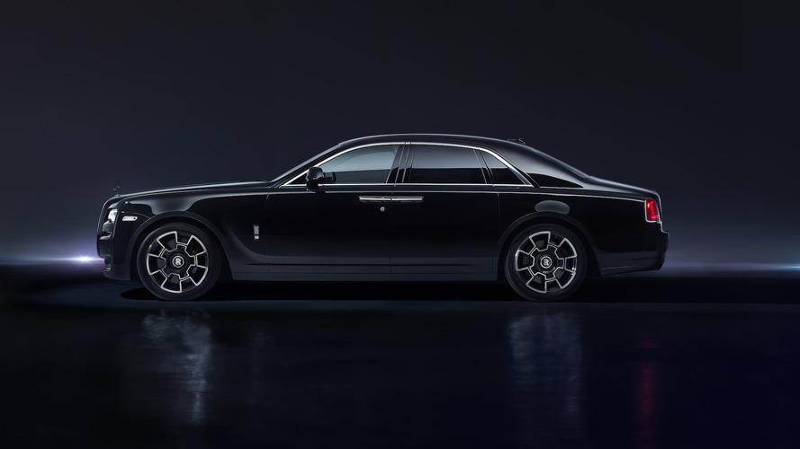 Rolls-Royce Ghost Black Badge Versace