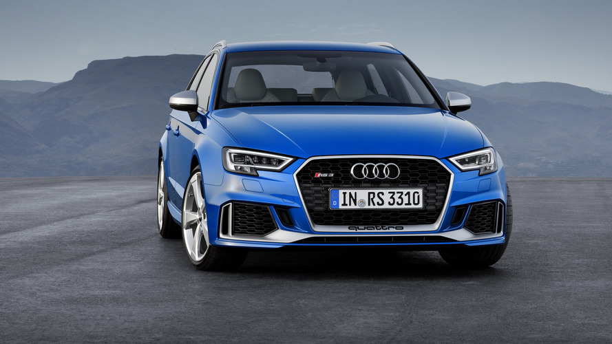 Audi a stoppé la production de la RS 3 en Europe