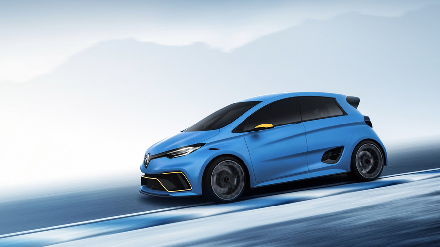 Renault Zoe E-Sport Concept is an electric 460hp pocket rocket