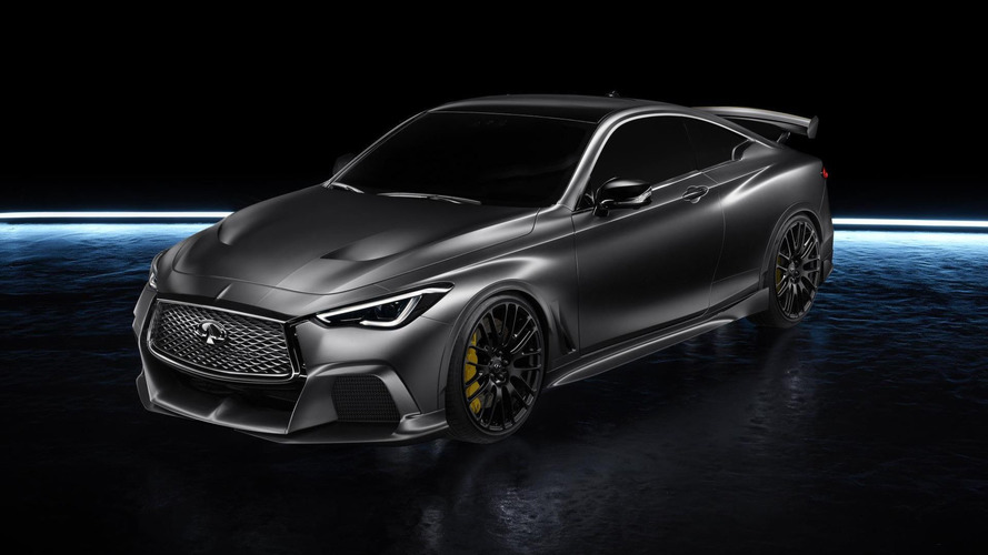 Infiniti Q60 Project Black S 563 bg'le mi geliyor?