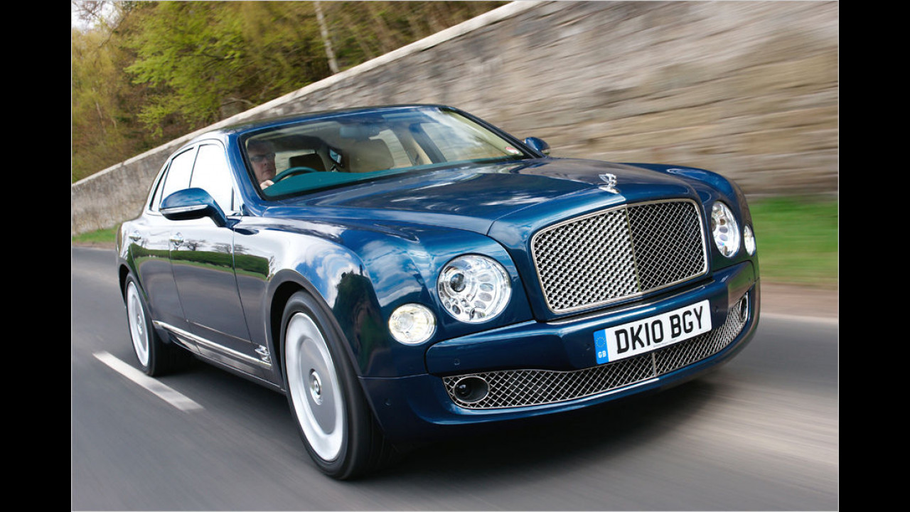 3. Platz: Bentley Mulsanne Speed