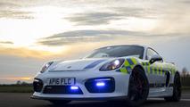 Porsche Cayman GT4 Police UK