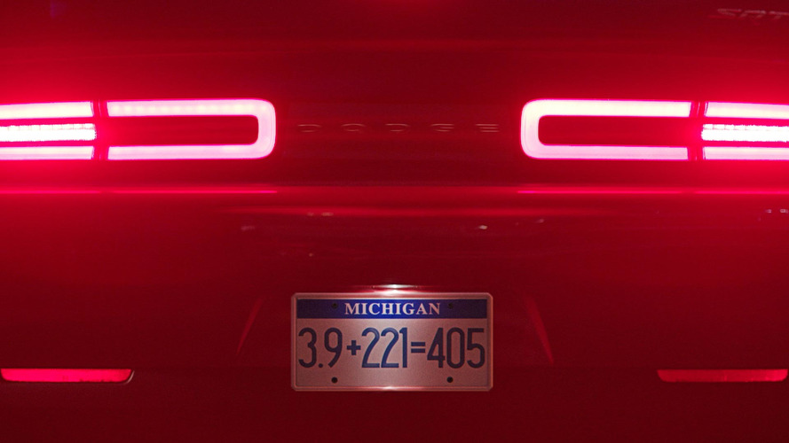Dodge Challenger Demon Exhaust Teaser
