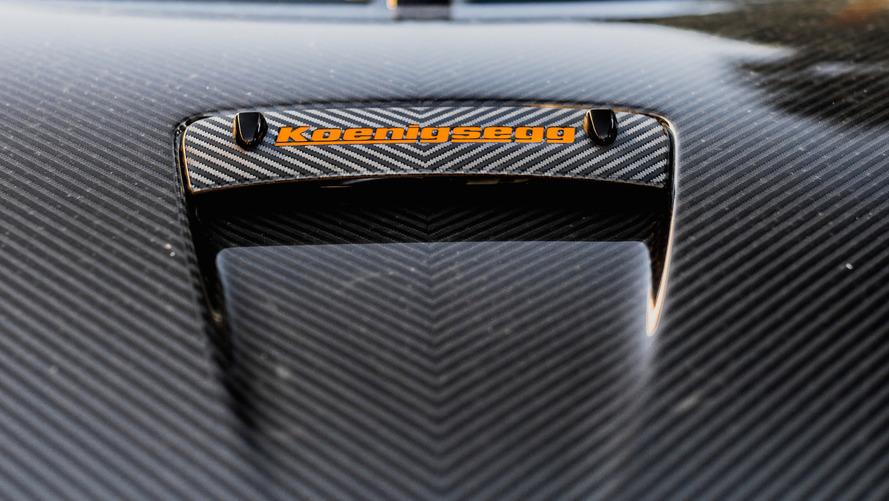 Koenigsegg One:1: Caught on the street