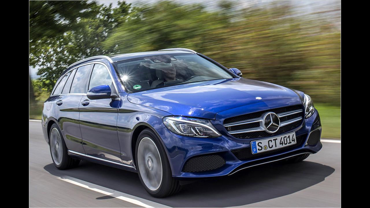 Mittelklasse: Mercedes C-Klasse als Bestseller