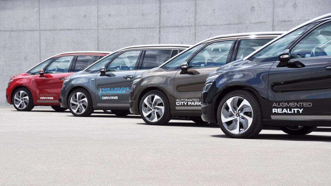 PSA voitures autonomes