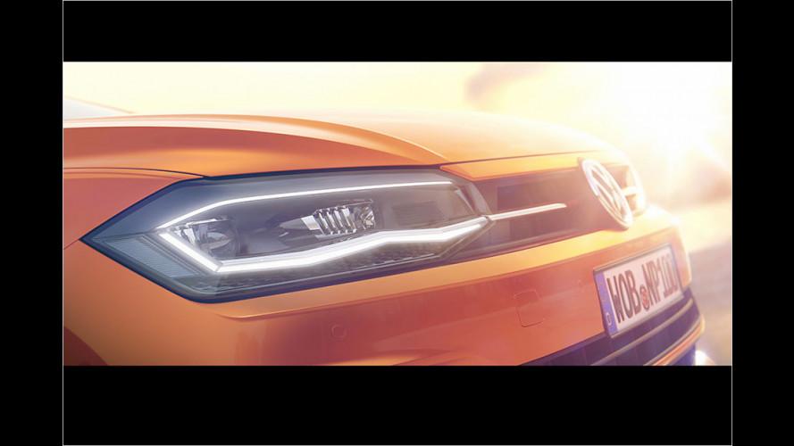 VW Polo (2017): Erste Bilder