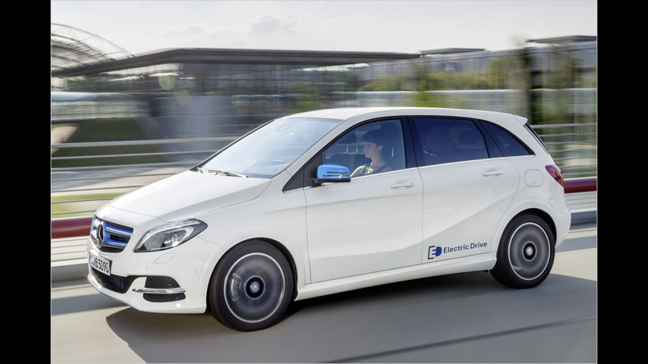 Platz 7: Mercedes B-Klasse Electric Drive