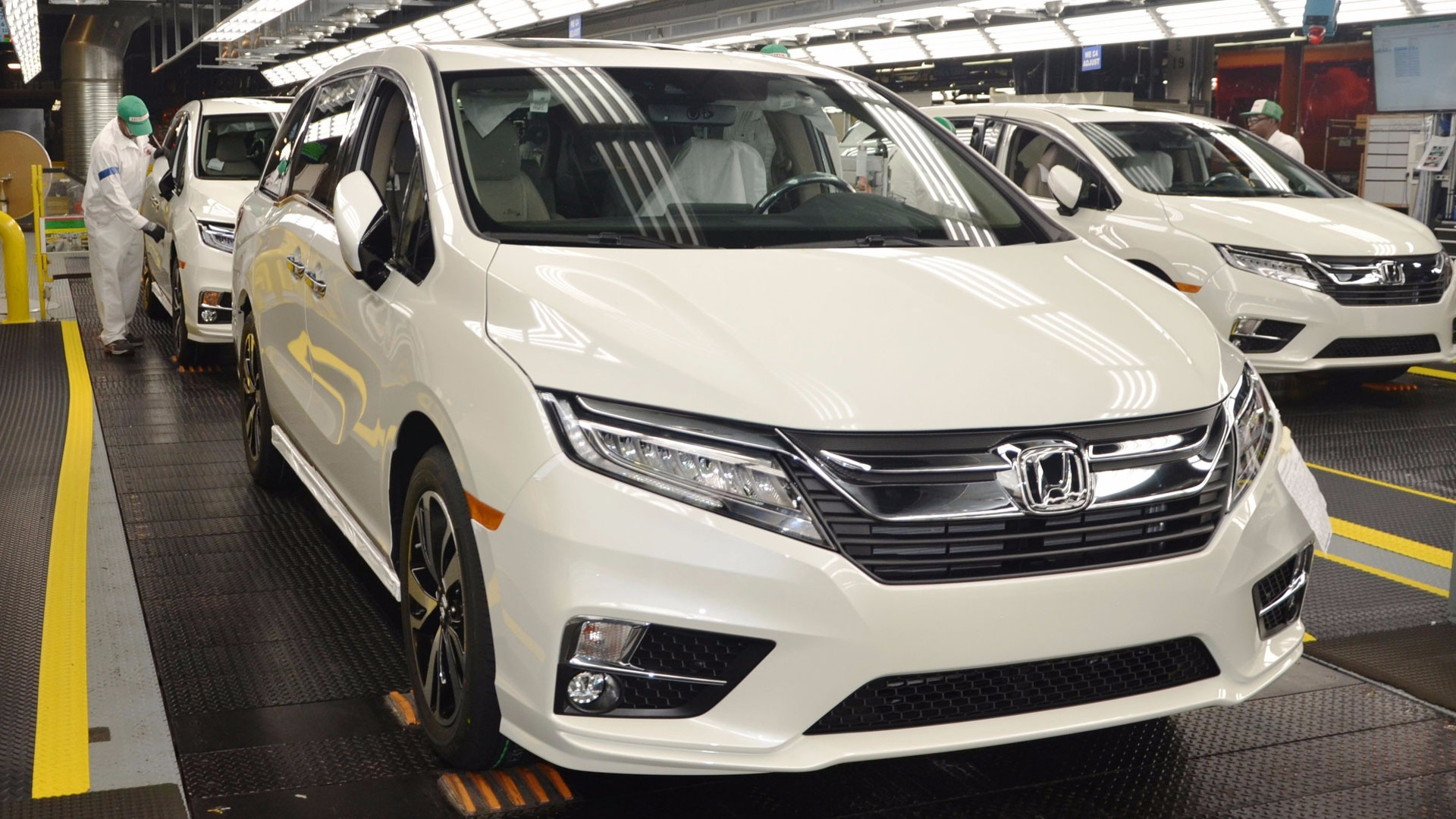 Most Expensive 2018 Honda Odyssey Costs 55 997