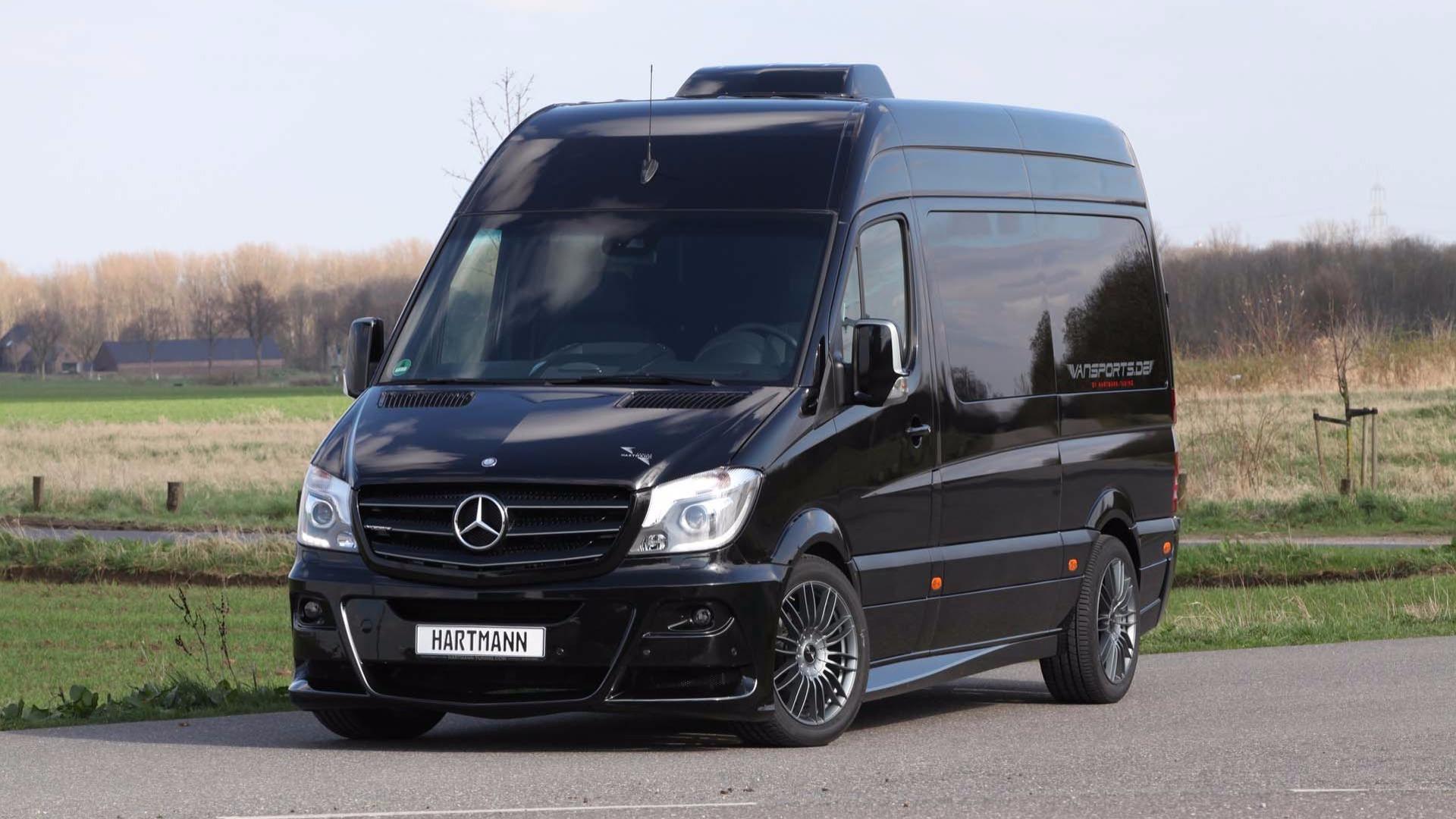 Custom Mercedes Sprinter >> Hartmann Custom Mercedes Sprinter Makes Efficient Use Of Space
