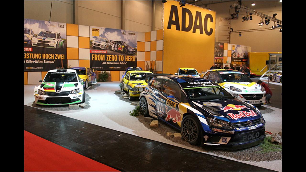 Noch mehr Rallyesport beim ADAC