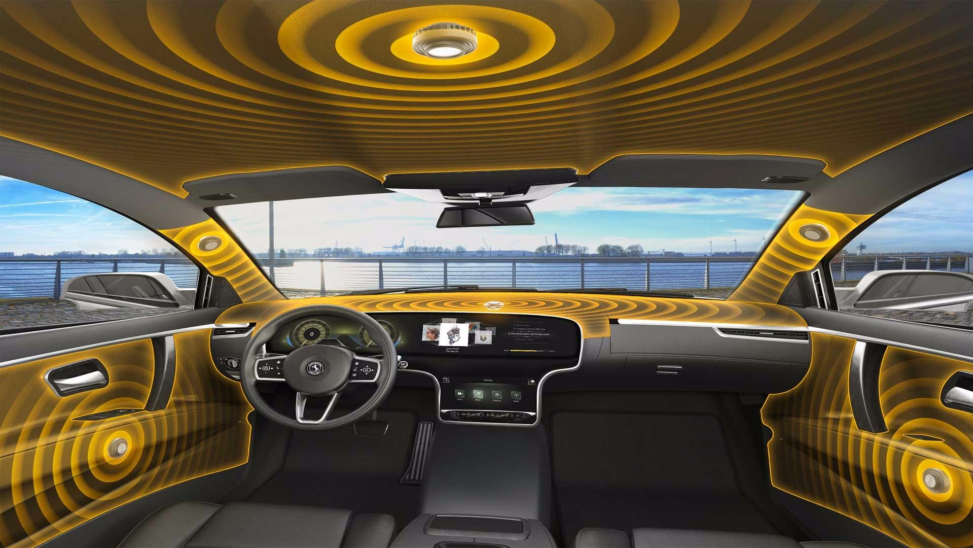 Continental S Speakerless Audio System Turns Cars Into Speakers