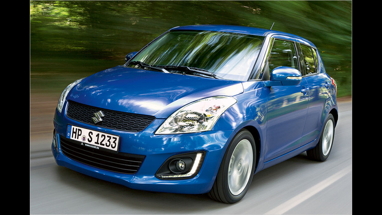 Suzuki Swift 1.2 4x4: 15.790 Euro