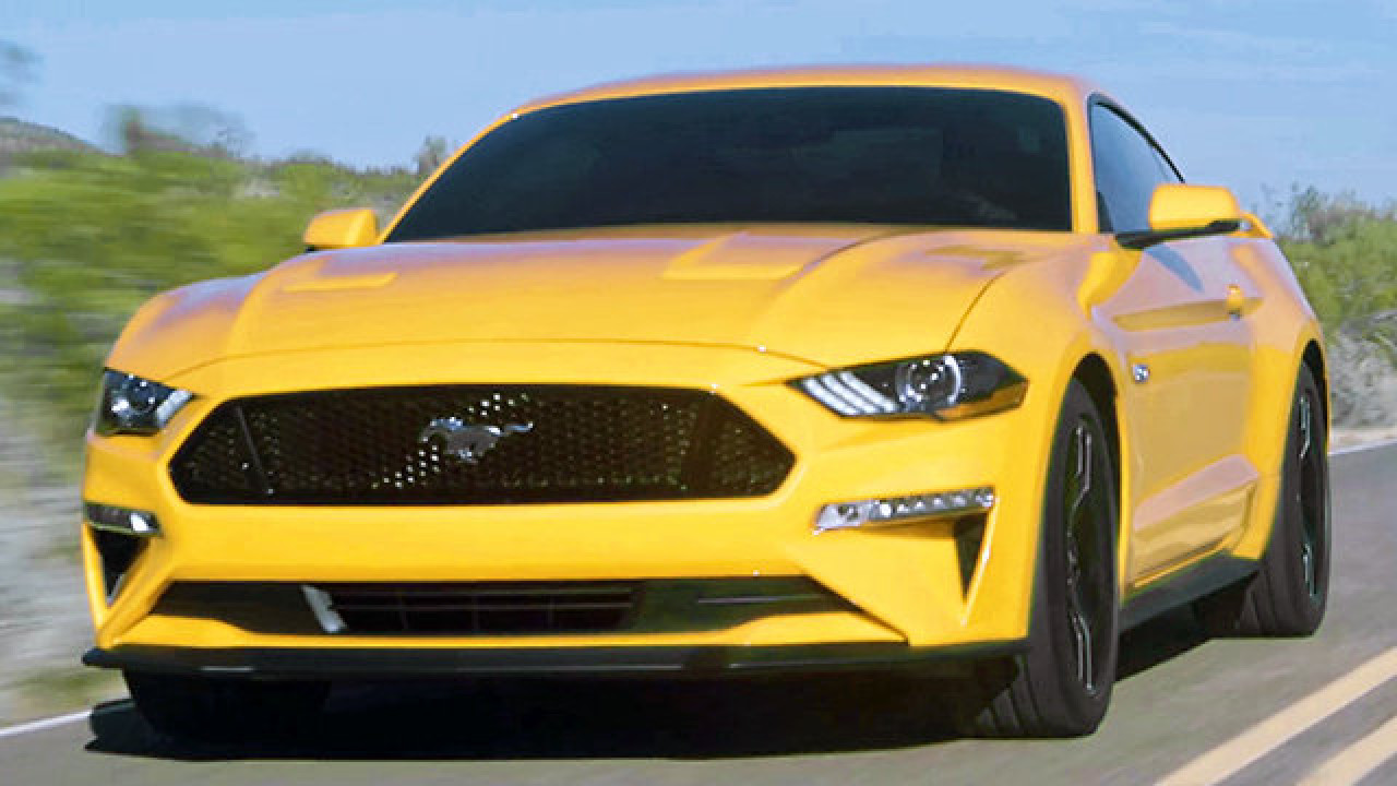 Ford Mustang im Video