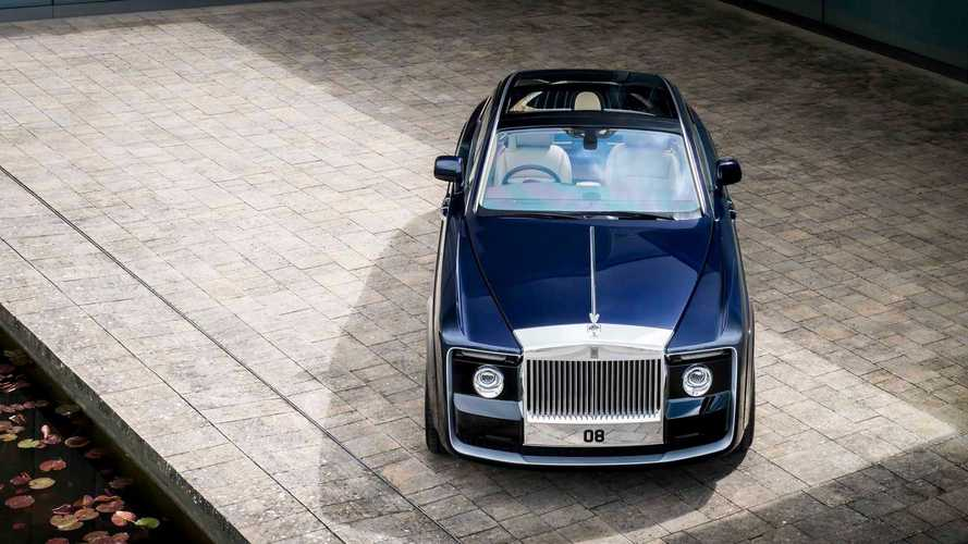 Rolls-Royce Reveals Bespoke One-Off Sweptail