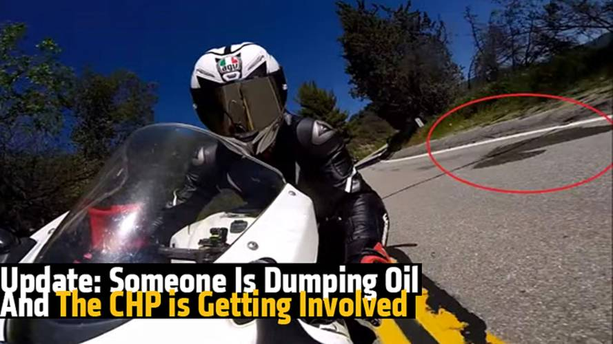 Update: Someone Is Dumping Oil On The Road And The CHP is Getting Involved