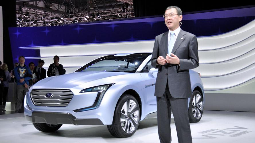 Subaru CEO Yasuyuki Yoshinaga
