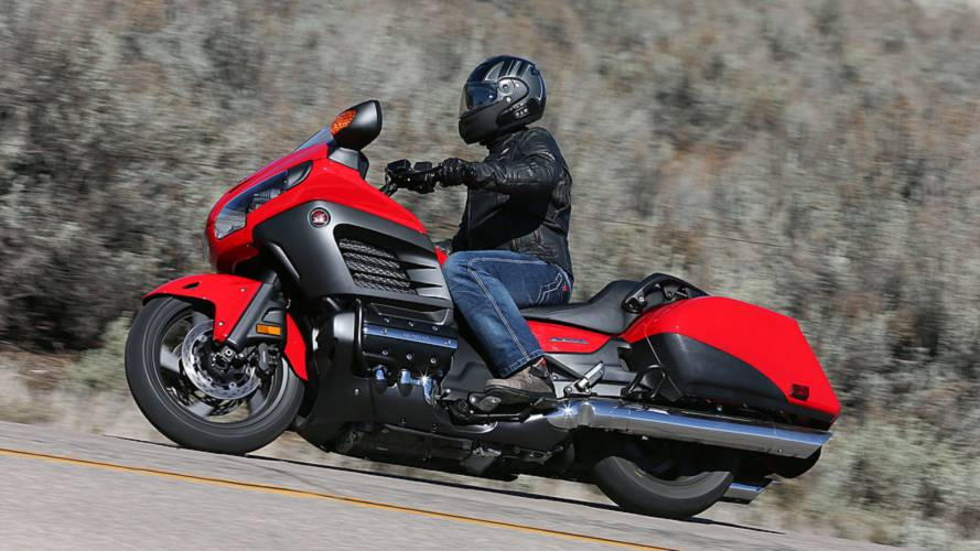 Honda Recalls Certain GL1800 Models