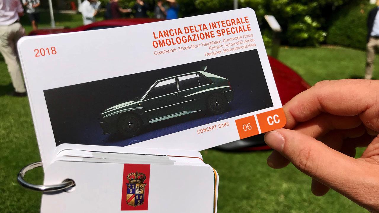 Lancia Delta Integrale a Villa d'Este