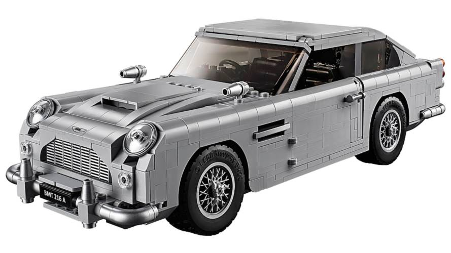 Lego James Bond Aston Martin DB5 Revealed