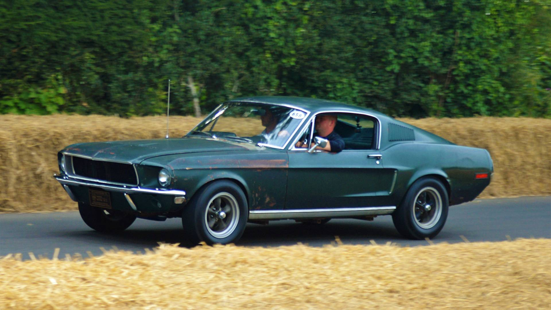 Original Bullitt Mustang to be sold at auction