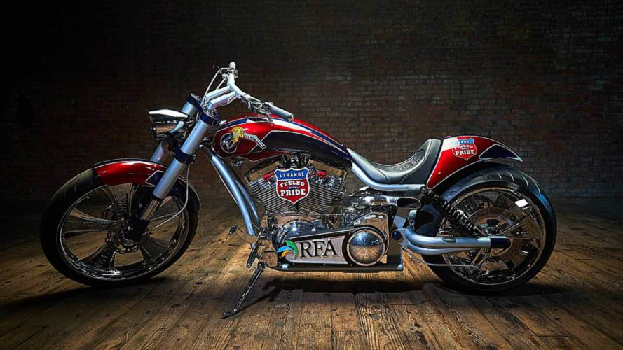 Paul Jr. Builds Ethanol-Powered Chopper for Lobbying Group