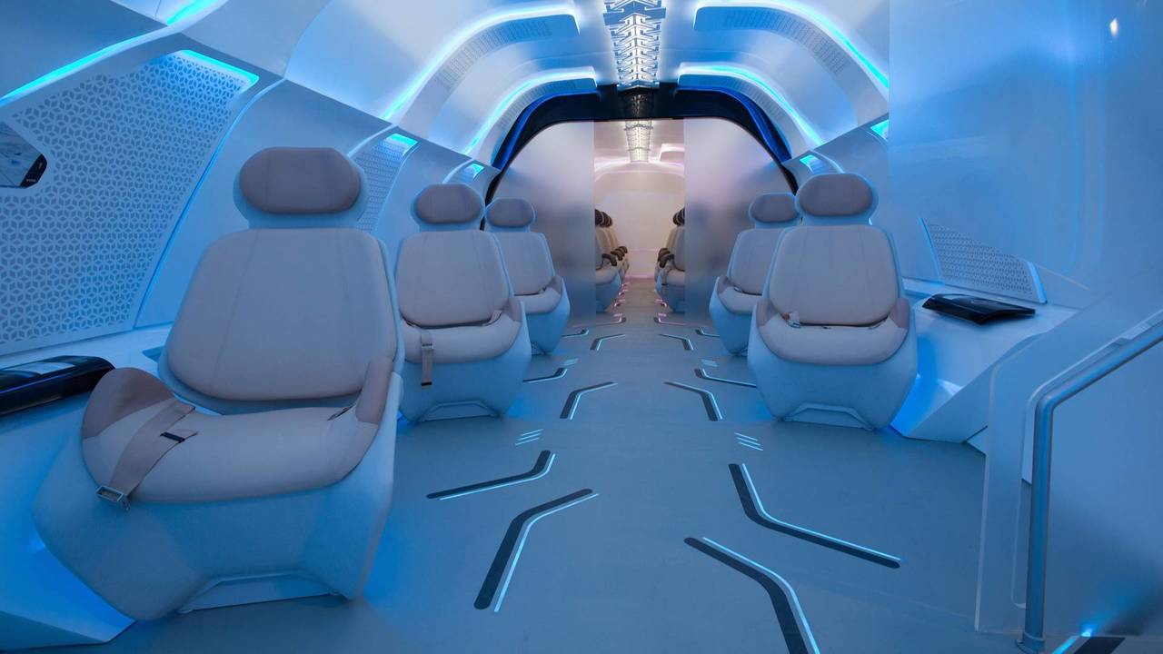 BMW Hyperloop Interior Prototype