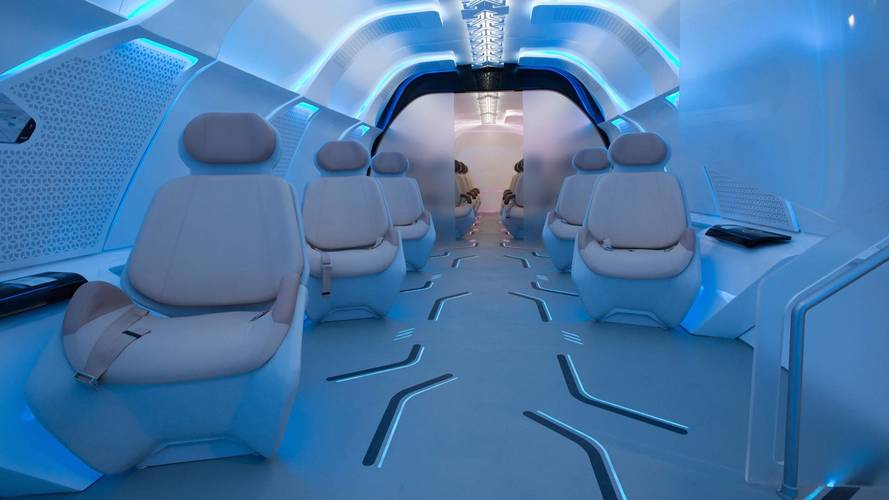 BMW Designed A Beautiful Interior For Virgin's Hyperloop One