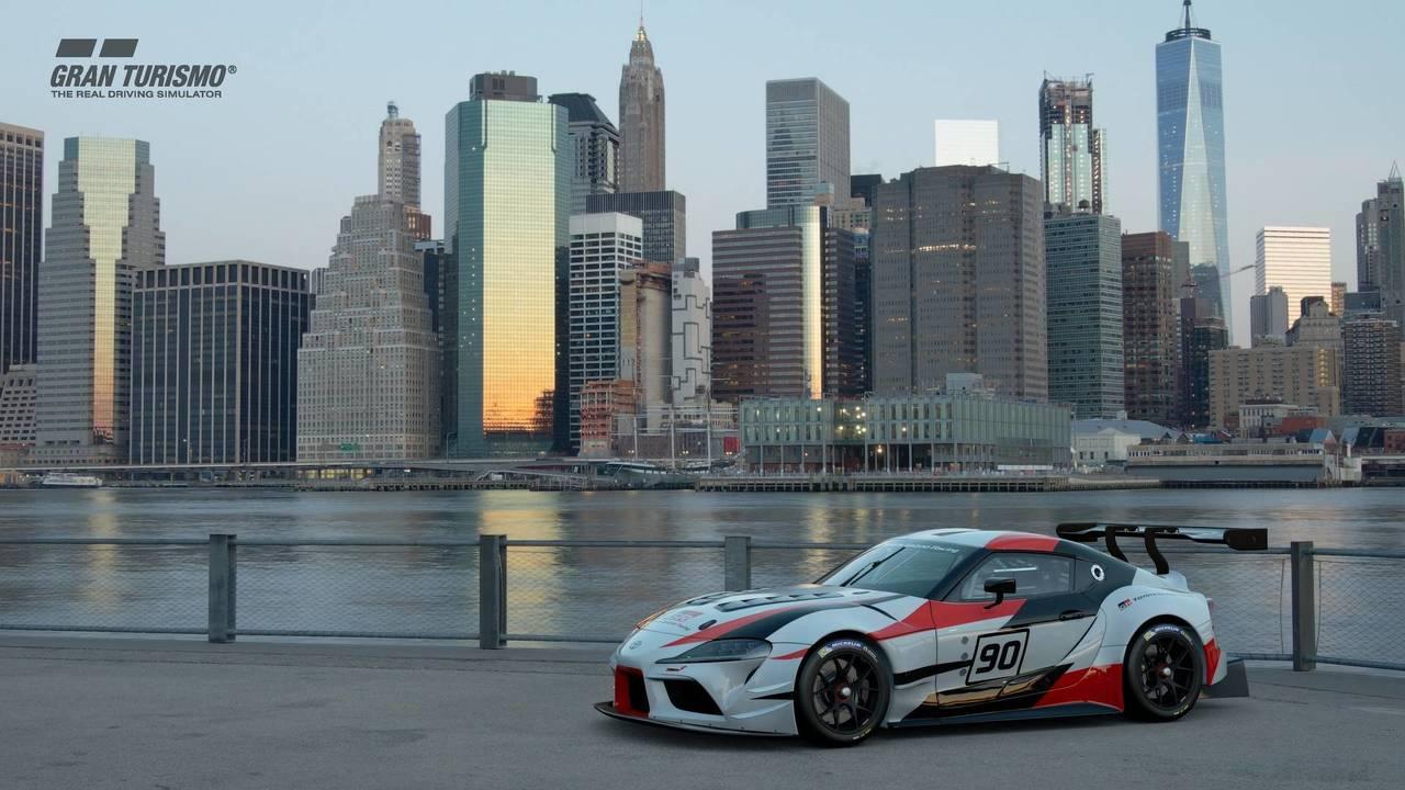 Toyota GR Supra Racing Concept en Gran Turismo Sport