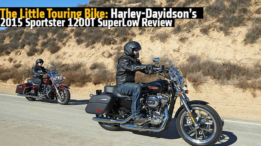 The Little Touring Bike: Harley-Davidson's 2015 Sportster 1200T SuperLow Review