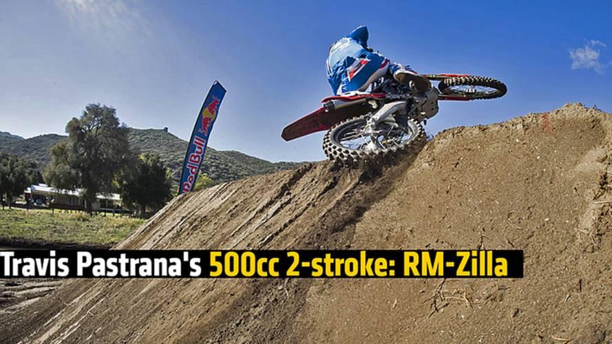 Travis Pastrana's 500cc 2-stroke: RM-Zilla