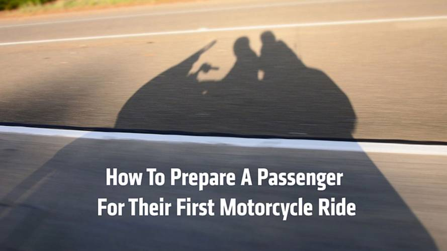 How To Prepare a Passenger For Their First Motorcycle Ride