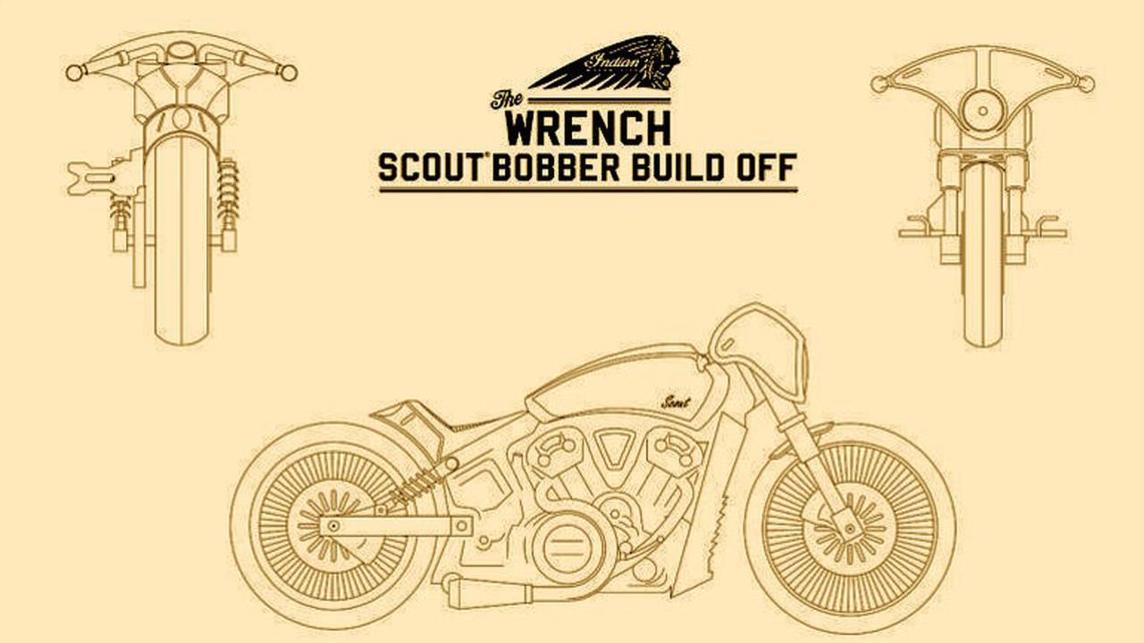 UPDATE: Indian Reveals 3 Finalists for The Wrench Build Off