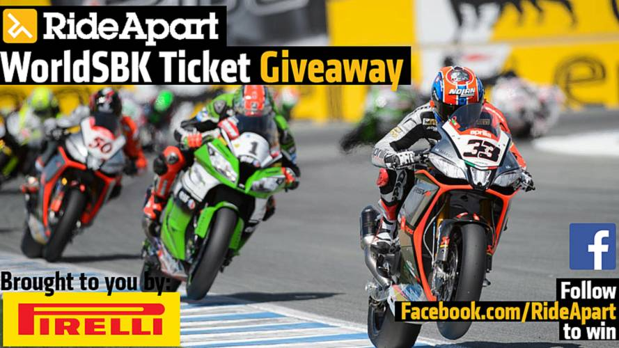 Win Tickets to WorldSBK Laguna Seca - Here's How